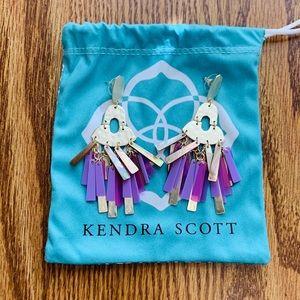 EUC Kendra Scott Kitty earrings